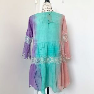 Antica Sartoria Swim - NWT Antica Sartoria Boho Dress/Tunic/Beach Coverup